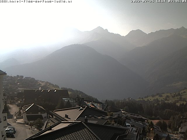 Live Webcam in Hotel Natürlich in Fiss – Serfaus-Fiss-Ladis in Tyrol – Family holidays in Austria.