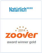 Zoover Award Gold 2014
