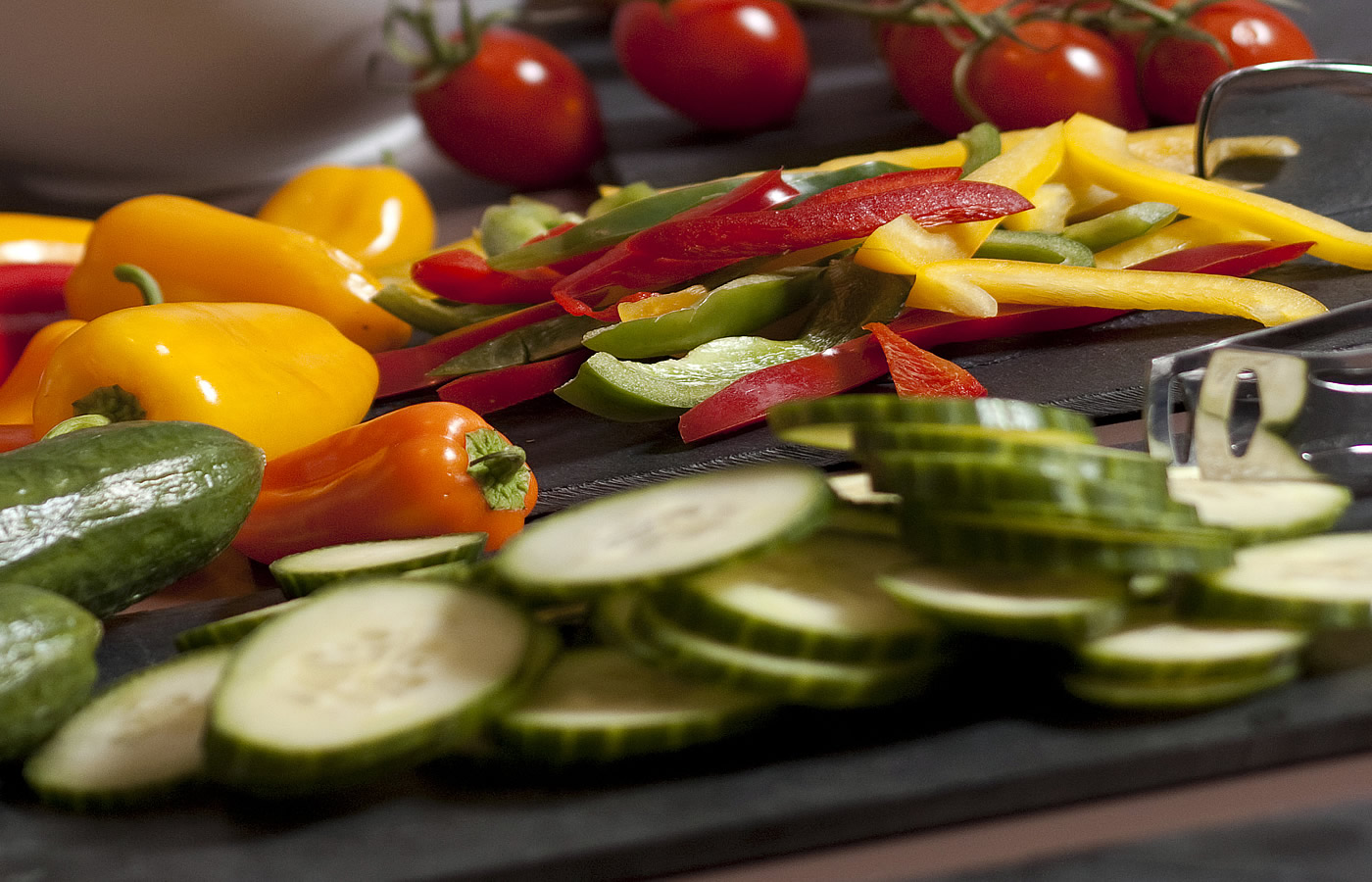 Gemüse für einen gesunden Start in den Urlaubstag.