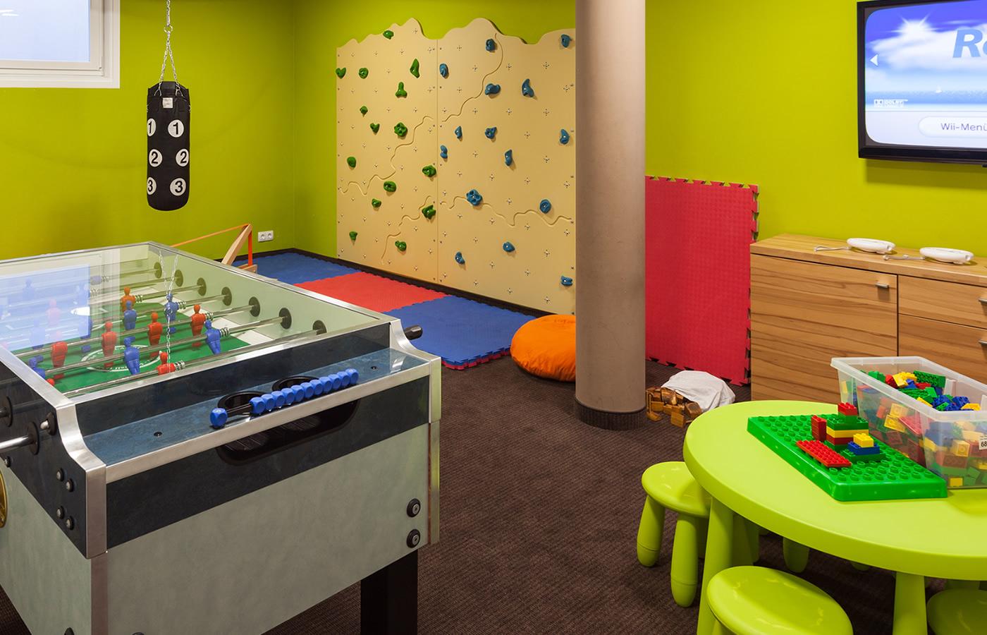 Kinderspielzimmer von Natürlich. Hotel in Fiss, Tirol.