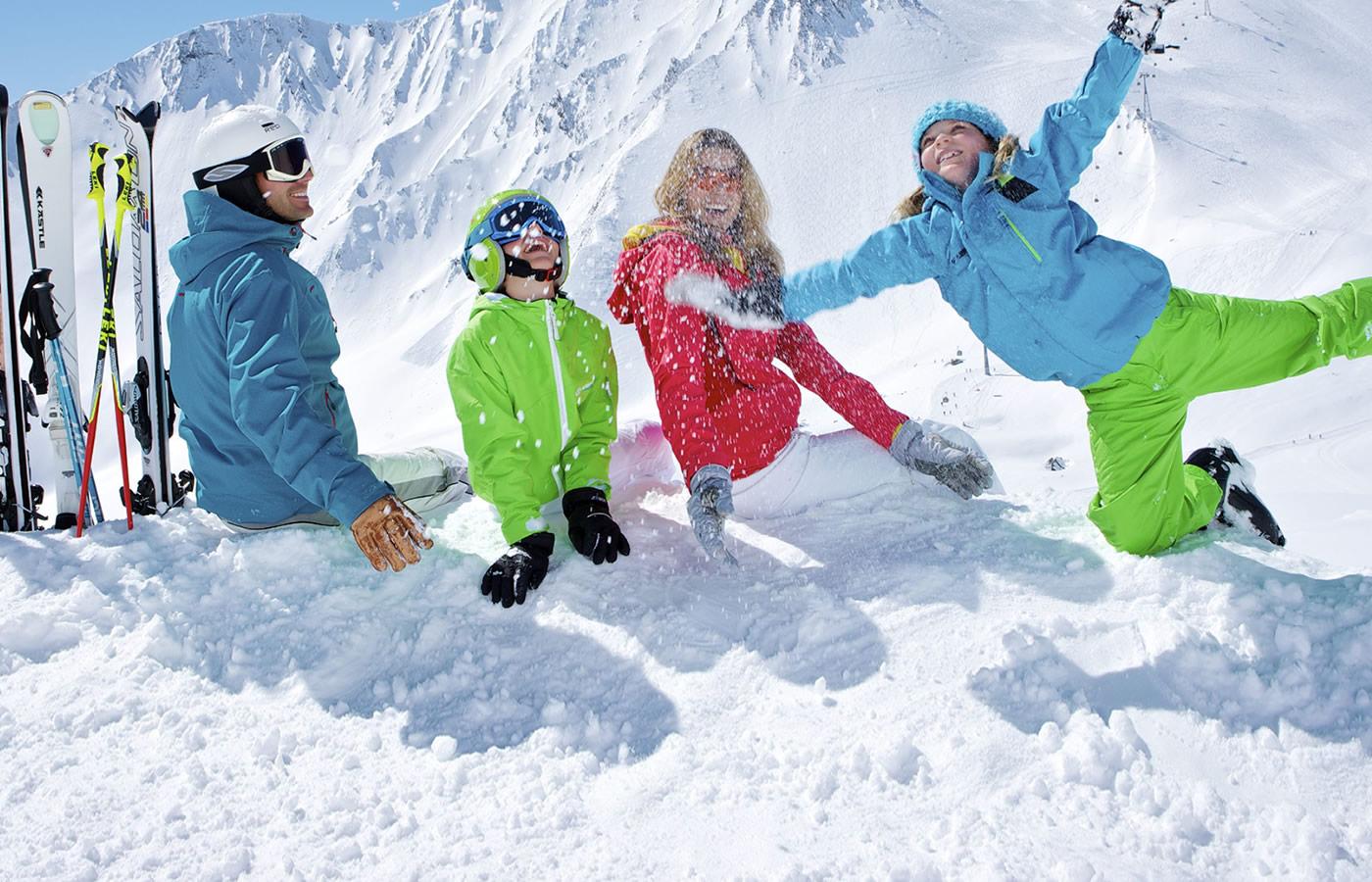 Familienspaß in Serfaus-Fiss-Ladis in Österreich - Winter-Ferien.