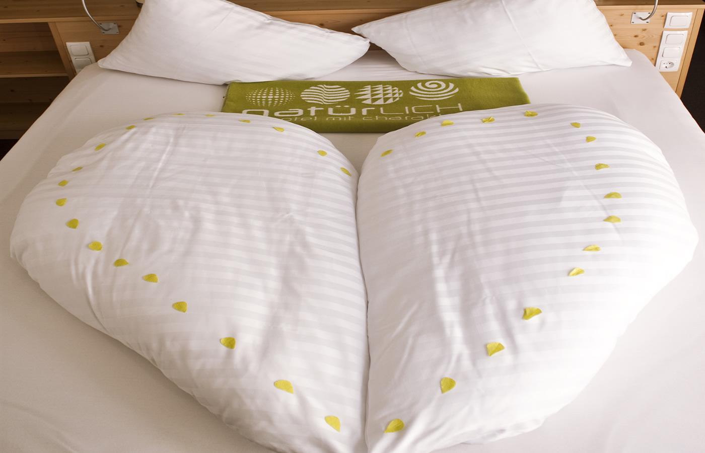Tempur Schlafsystem im Natürlich. Hotel in SFL - Tirol.